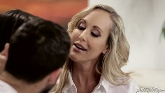 Buxom blond mothers Brandi Enjoy her twisted Boyfriend are gonna provide challenging sex principle to effectively lively blonde chick
