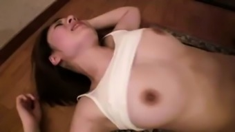 Extreme Japanese people threesome video files by using big tits young adult nympho