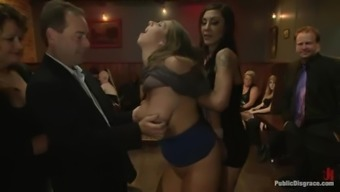 A couple of lovely chubby girls get fucked using a number of men take pleasure of it