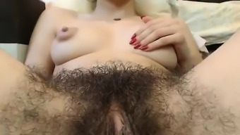Warm Hairy Pussy By using Major Nipples On Web camera