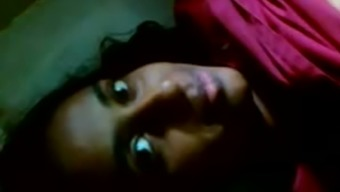 Sexually aroused Indian baby is masturbating in solo novice video