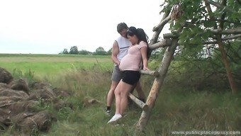 Lovely pregnant love is attractive as hell and needs to effectively fuck outdoors