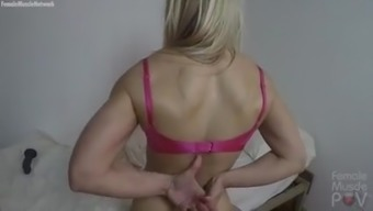 Ladies Muscle tissues Cougar Gets POV Worship