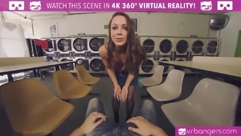 Abigail Mac is getting extra pack within this immersive VR porno screenplay.