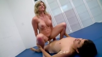 Cory Track in Thing to do Mama struggle Fucks her Step-Son