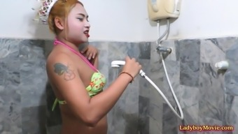 Plump Thai yoga shemale Chan adores to play remission with the use of fellas.
