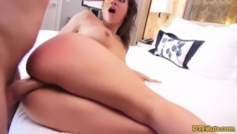 Great ASS Baby ABELLA Hazard Dual Intrusion AND SQUIRTING Maximum
