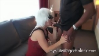 light colored wifey Alexia Thomas first meet with major black prick to persuade