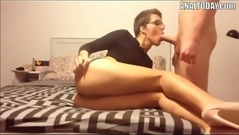 Anal passage Sexual intercourse By using Short Haired Attractive German Chicken