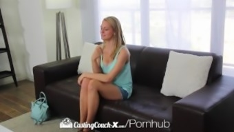 CastingCouch-X - Amateur Alli Rae begs for getting a dirty face