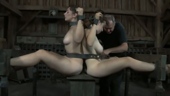 Dixon Mason and her partners are chained simultaneously